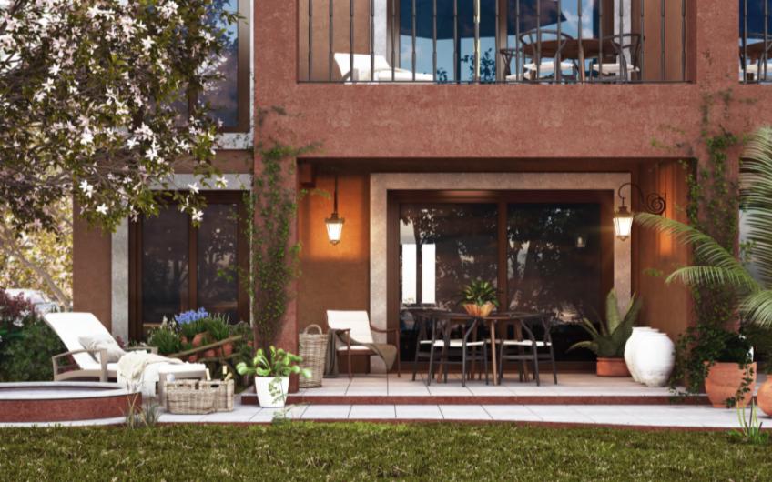 Increible Pent Garden  en El Deseo Residencial