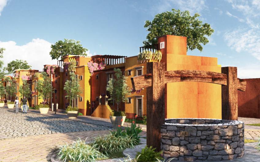 Departamento de Lujo duplex  en hermoso desarrollo con jardín privado